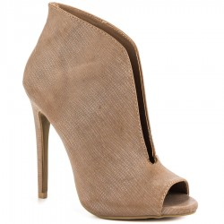Riva Taupe ladies heels