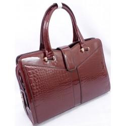 Ladies brown wetlook bags in Kenya